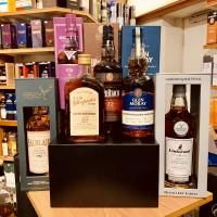 Flaschen für das Tara Whisky-Tasting am 7.3.2020
